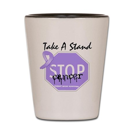 Stop General Cancer Shot Glass