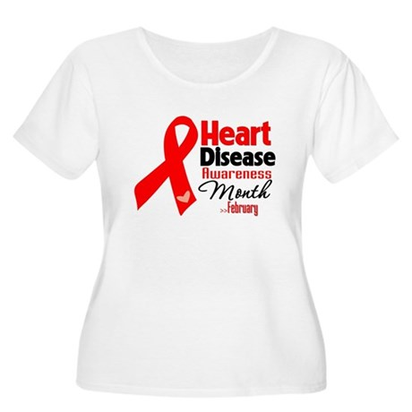 Heart Disease Women's Plus Size Scoop Neck T-Shirt