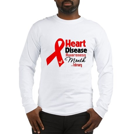 Heart Disease Long Sleeve T-Shirt