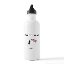 We Got Him Water Bottle