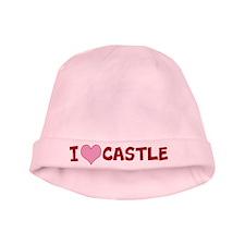 I Heart Castle Baby Hat