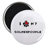 "I *heart* My Goldendoodle 2.25"" Magnet (10 pack)"