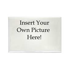Upload your own picture Rectangle Magnet (100 pack