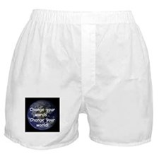 Change Your Words Boxer Shorts