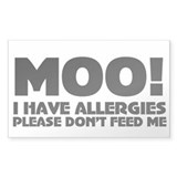 Milk Allergy Decal