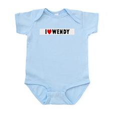 I Love Wendy Infant Creeper