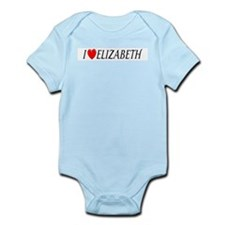 I Love Elizabeth Infant Creeper