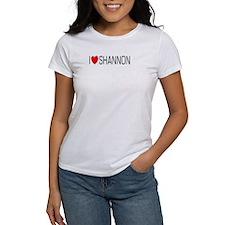 I Love Shannon Tee