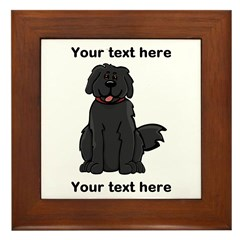 Newfie - Customizable Framed Tile
