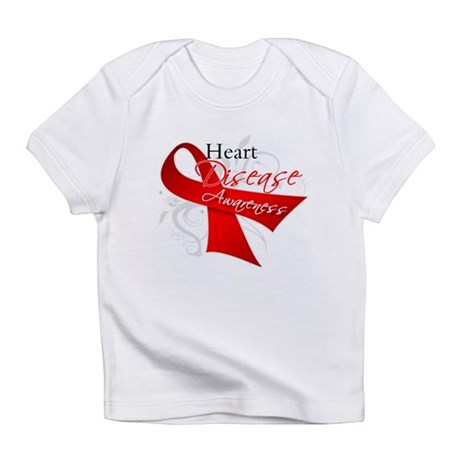Heart Disease Ribbon Infant T-Shirt