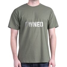 pwned Black T-Shirt