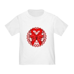 Butterfly Heart Disease Toddler T-Shirt