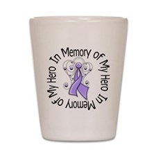 General Cancer In Memory Shot Glass