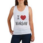 I heart warsaw Women's Tank Top