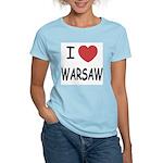 I heart warsaw Women's Light T-Shirt