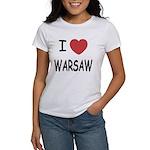 I heart warsaw Women's T-Shirt
