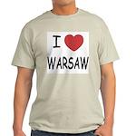 I heart warsaw Light T-Shirt