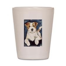 Jack Russell Terrier 2 Shot Glass