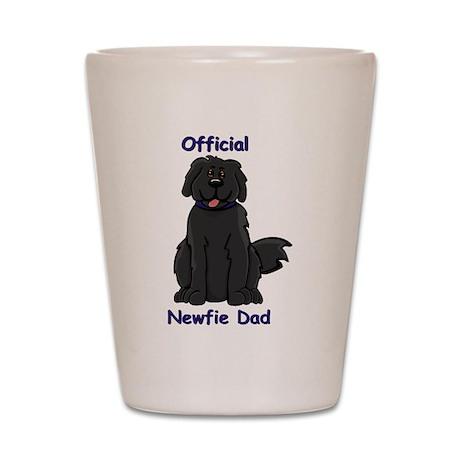 Newfie Dad Shot Glass