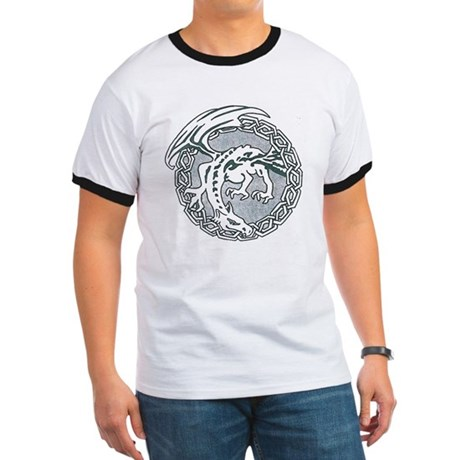 Celtic Dragon Ringer T