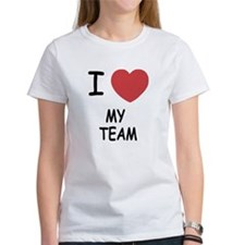 I heart my team Tee