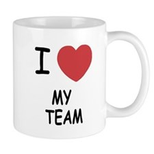 I heart my team Mug