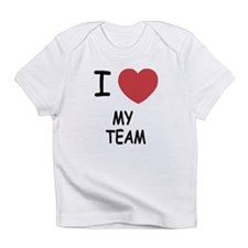 I heart my team Infant T-Shirt