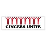 Ginger Bumper Sticker