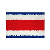Costa Rican Flag Rectangle Magnet (100 pack)