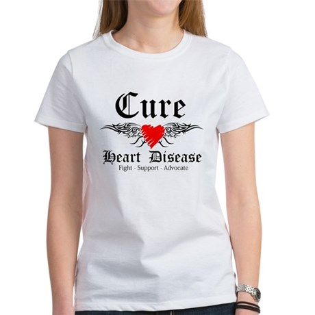 Cure Heart Disease Women's T-Shirt
