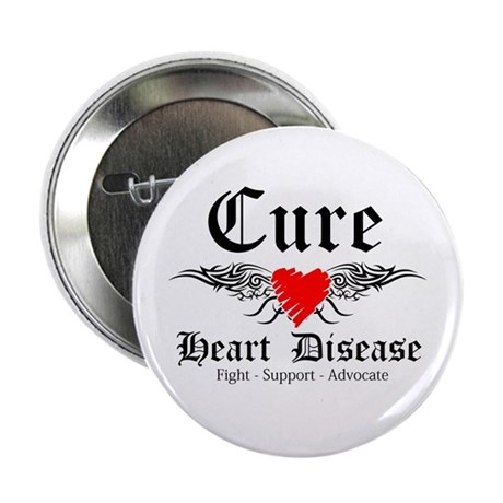 "Cure Heart Disease 2.25"" Button (100 pack)"