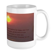 """Y Yoga Movie"" Mug Lokah Samasta.."