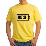 Recharge Yellow T-Shirt