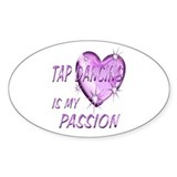 Tap Dancing Passion Decal