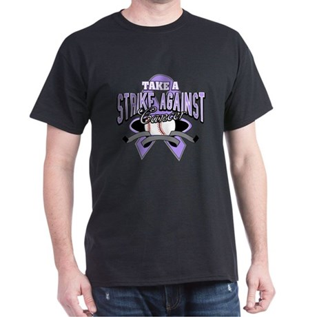 Take A Strike Against Cancer Dark T-Shirt