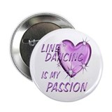 "Line Dancing Passion 2.25"" Button"