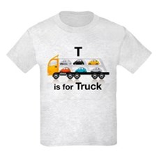 T is for Truck: Car Carrier T-Shirt