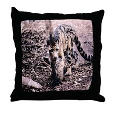 Clouded Leopard series 2 Throw Pillow