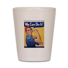 Cute We can do it Shot Glass