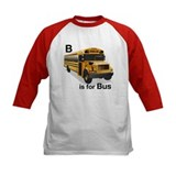 B is for Bus: School Bus Tee