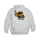 B is for Bus: School Bus Hoody
