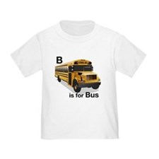B is for Bus: School Bus T