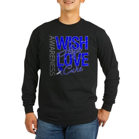 ALS Wish Hope Long Sleeve Dark T-Shirt