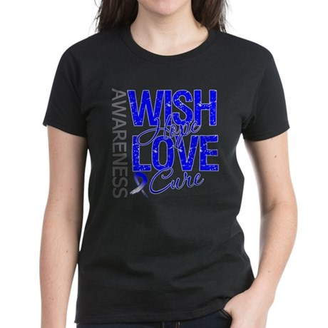 ALS Wish Hope Women's Dark T-Shirt