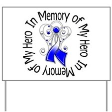 ALS In Memory of My Hero Yard Sign