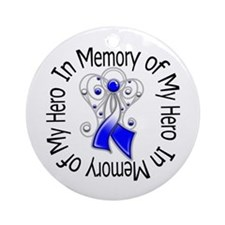 ALS In Memory of My Hero Ornament (Round)