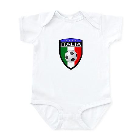 Italia Soccer Patch Infant Bodysuit