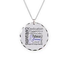ALS Caregivers Collage Necklace