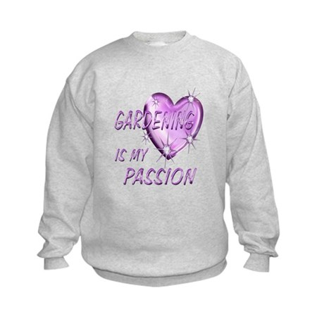 Gardening Passion Kids Sweatshirt