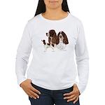 English Springer Spani Women's Long Sleeve T-Shirt
